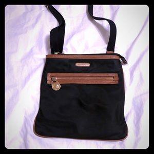 Michael Kors Black/Brown Crossbody Bag